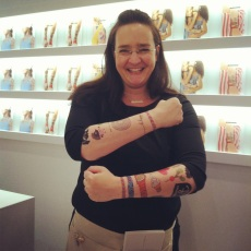 Tina at Tattly